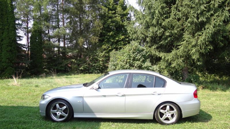 2005 BMW E90 325i N52, 218 koni, 6 bieg, 6 cyl, ksenon, skora, klima, sport siedzenia i zawieszenie
